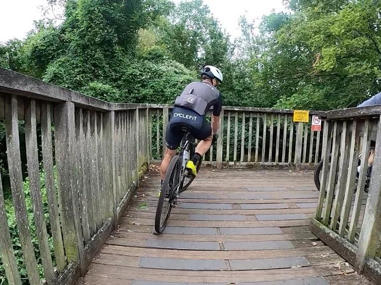 Gravel bridge