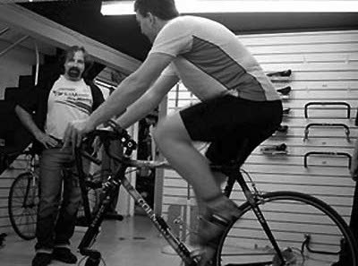 Paul Swift trains Cyclefit